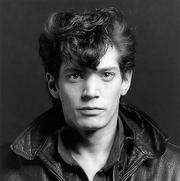 Portrait of Robert Mapplethorpe  (click to view image source)