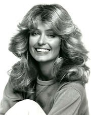 Portrait of Farrah Fawcett (click to view image source)