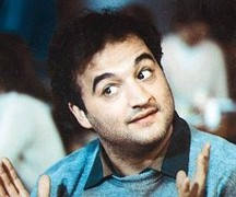 Portrait of John Belushi  (click to view image source)