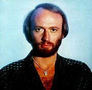 Portrait of Maurice Gibb (click to view image source)