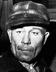 Portrait of Edward Gein  (click to view image source)