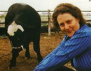 Portrait of Temple Grandin (click to view image source)