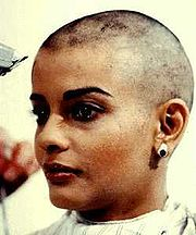 Portrait of Persis Khambatta (click to view image source)