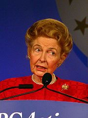 Portrait of Phyllis Schlafly (click to view image source)