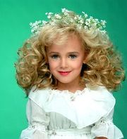 Portrait of JonBenet Ramsey  (click to view image source)