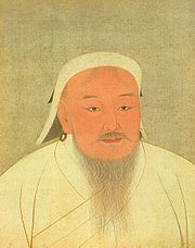 Portrait of Genghis Khan (click to view image source)