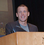 Portrait of Lance Armstrong (click to view image source)
