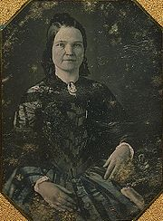 Portrait of Mary Todd Lincoln  (click to view image source)