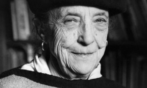 Portrait of Louise Bourgeois  (click to view image source)