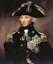 Portrait of Horatio Nelson (click to view image source)