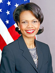 Portrait of Condoleezza Rice (click to view image source)