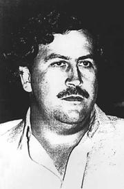 Portrait of Pablo Escobar (click to view image source)