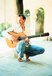 Portrait of Ottmar Liebert (click to view image source)
