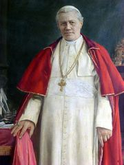 Portrait of Pope Pius X (click to view image source)