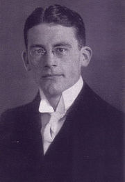Portrait of Carl Schmitt  (click to view image source)