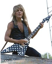 Portrait of Randy Rhoads (click to view image source)