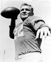 Portrait of Bobby Layne  (click to view image source)