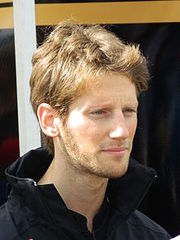 Portrait of Romain Grosjean (click to view image source)