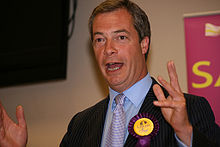 Portrait of Nigel Farage  (click to view image source)