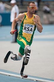Portrait of Oscar Pistorius (click to view image source)