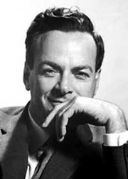 Portrait of Richard Feynman  (click to view image source)