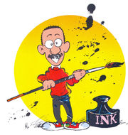 Portrait of Bill Watterson  (click to view image source)