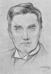 Portrait of Ralph Vaughan Williams  (click to view image source)