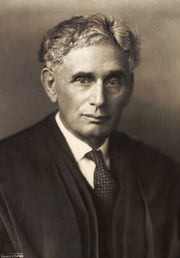 Portrait of Louis Brandeis  (click to view image source)