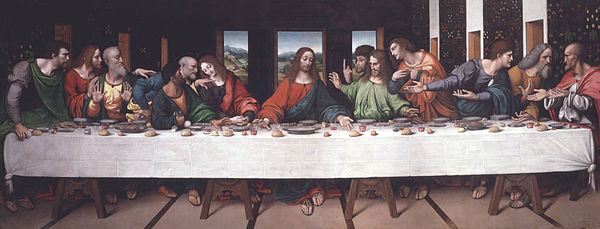 Leonardos Last Supper Astrowiki En